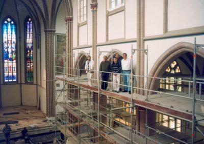 Bild der 3. Ausmalung der Emsteker Kirche durch Fa. Wessendorf (1999-2000))