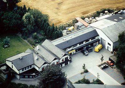 Stammhaus in der Bahnhofstraße Emstek zum Ende der 1980er Jahre