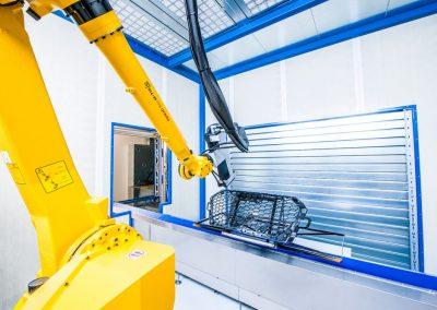 Lackieren 4.0 - Neubau des Lackiergebäudes mit vollautomatisierter Roboterlackierung